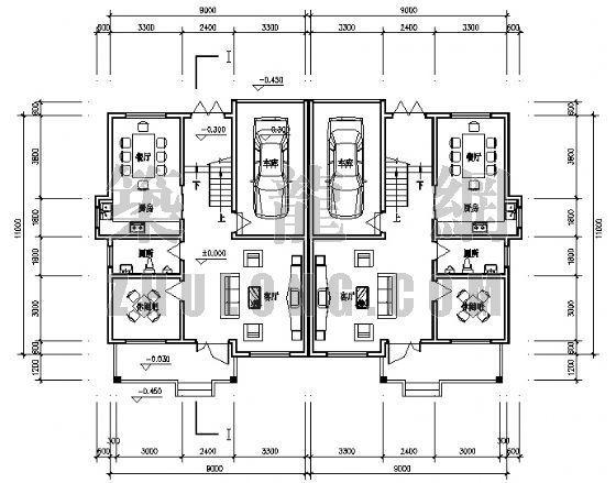 小康农居建筑设计方案4-3