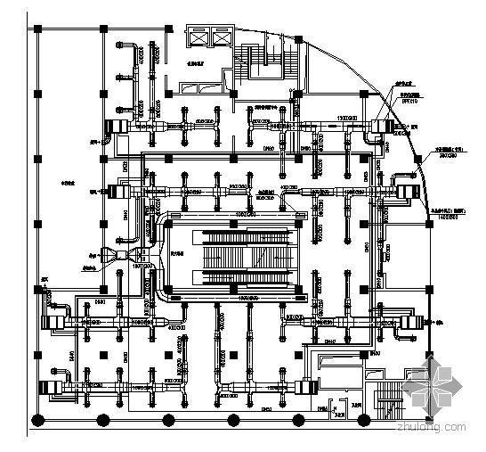 某商场中央空调改造设计图纸