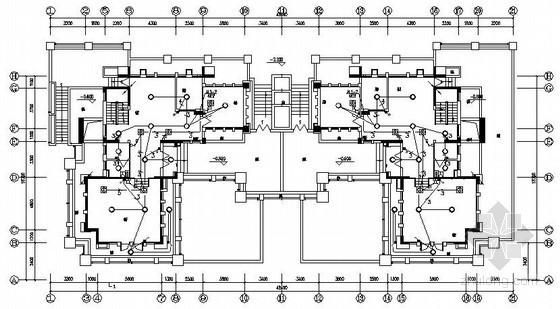 [西安]某三层别墅全套电气图纸