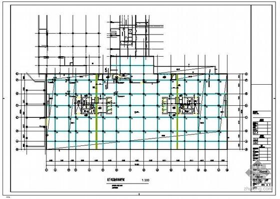 北京某商住楼地下结构图