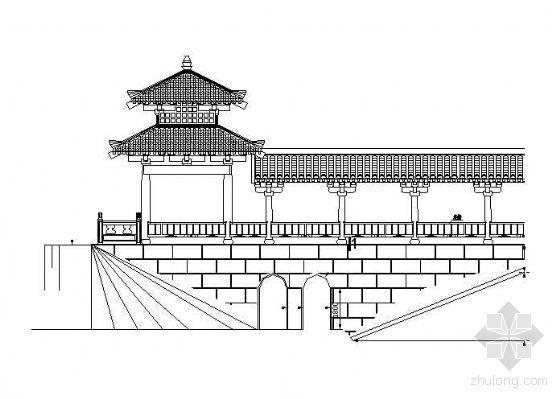 景观廊桥附加效果图