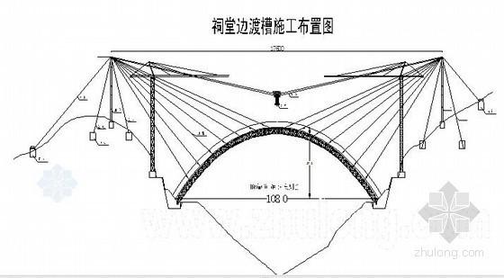 祠堂边渡槽施工组织设计(单跨108m)