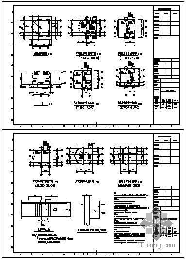 某无机房圆形观光电梯结构图