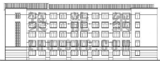 省重点中学建筑施工图全套