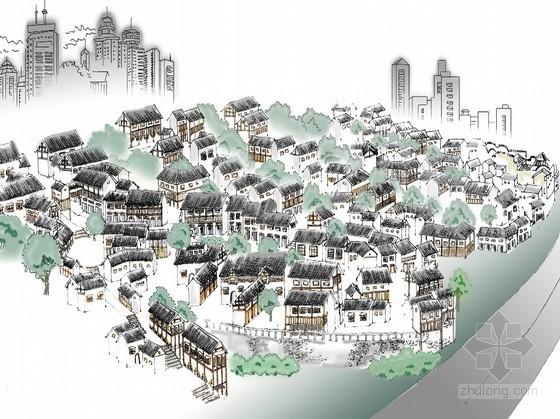 城市规划商业街设计获奖作品之一等奖-阶