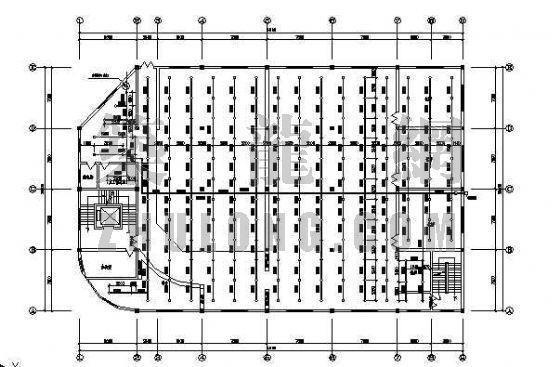 某五层建筑自动喷水灭火系统平面设计图