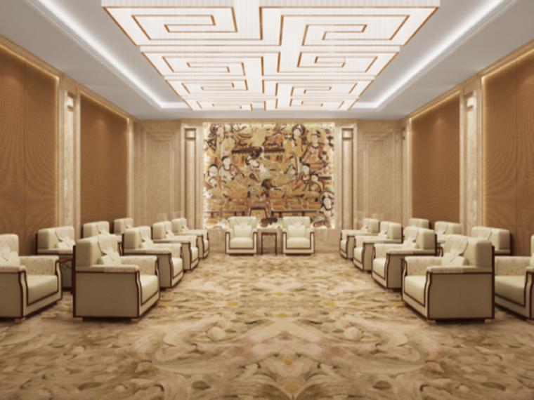 VIP休息室效果图