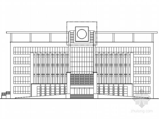 [山东]某社会福利院五层综合楼建筑施工图