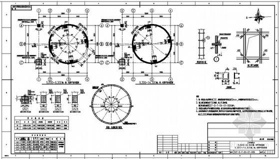 某露天煤矿穹顶仓系统结构设计图