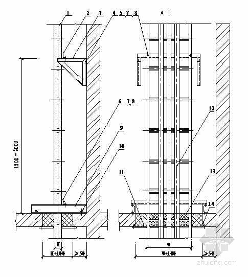 10KV变电所8-2电气竖井设备安装