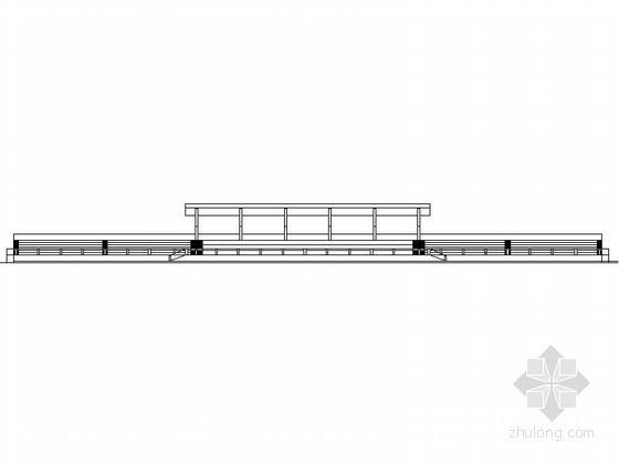 [东莞]某中学运动场看台建筑方案图