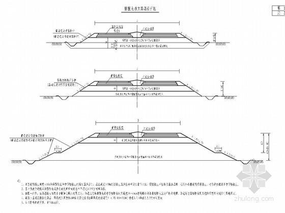 高速公路路基膨胀土设计图