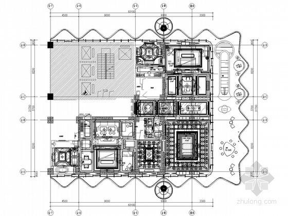[海南]五星级酒店强电系统施工图