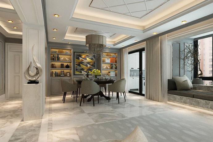 新古典风格威廉装饰低调奢华别墅装修效果图