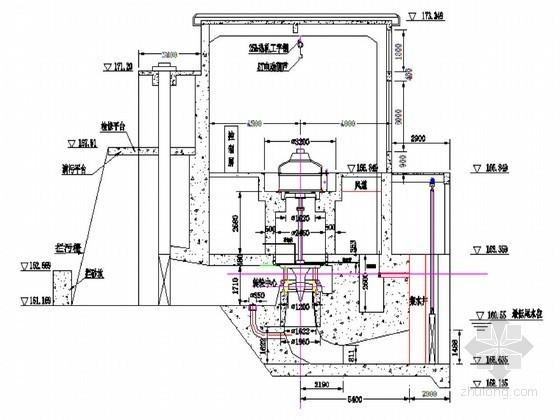 [江西]水电站厂房设计平面钢筋CAD图58张