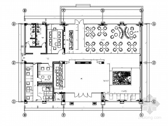 [杭州]现代简约售楼处室内装修图(含效果和实景)
