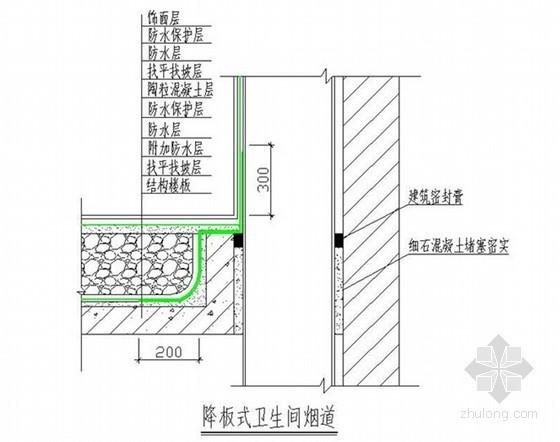 标杆企业建筑工程防渗漏施工技术措施