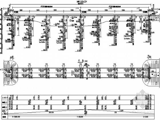 [湖南]两联4×20m后张法预应力简支空心板桥施工图57张