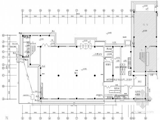 [湖南]学校综合楼给排水施工图纸