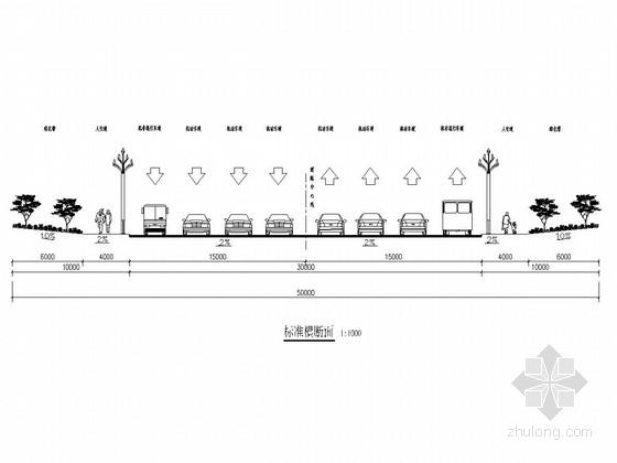 [四川]城市景观大道绿化工程施工图设计44张