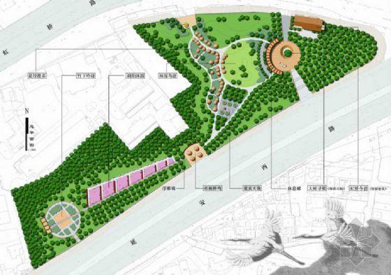 上海延虹绿地园林设计方案