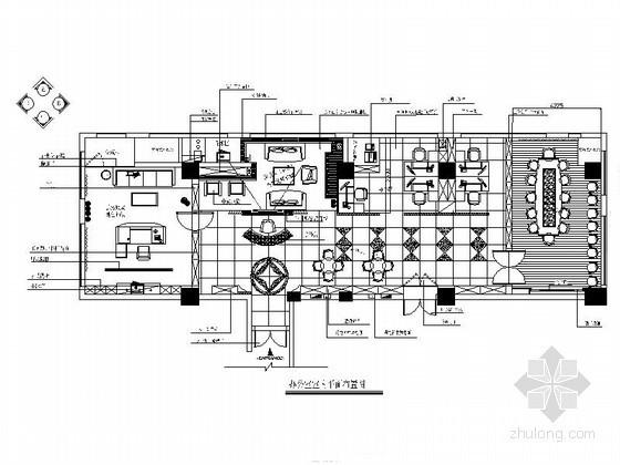 某出版社办公空间装修图