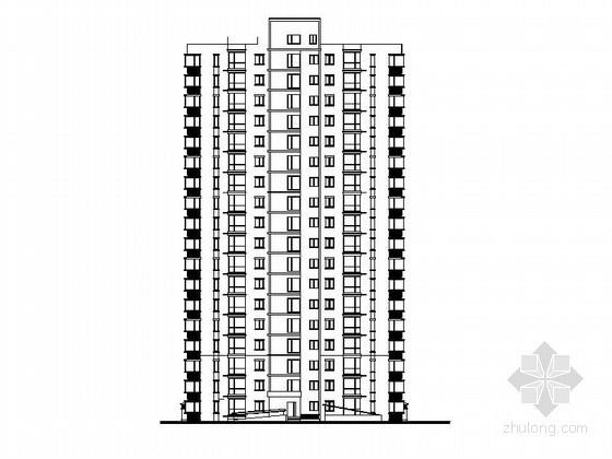 [涿州]某煤炭地质总局职工住宅改建工程1、2号楼建筑施工图