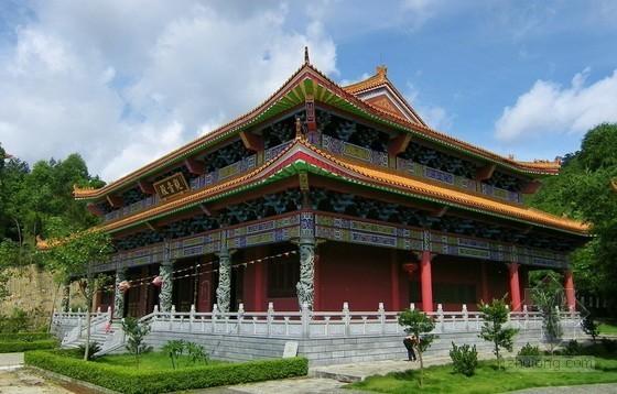 [湖北]寺院遗址文化旅游区建设工程量清单招标控制价