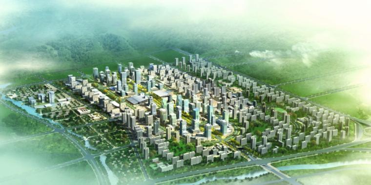 [武汉]科技新城现代服务中心区规划设计方案文本