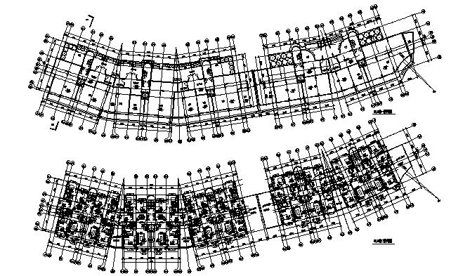 40套商住楼建筑施工图