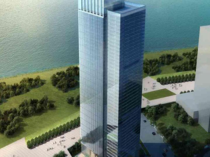 [福建]福州市闽江商务区建筑设计方案文本