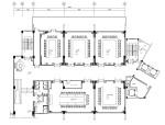 金螳螂设计——新中式风格办公楼内部装修施工图(附效果图)