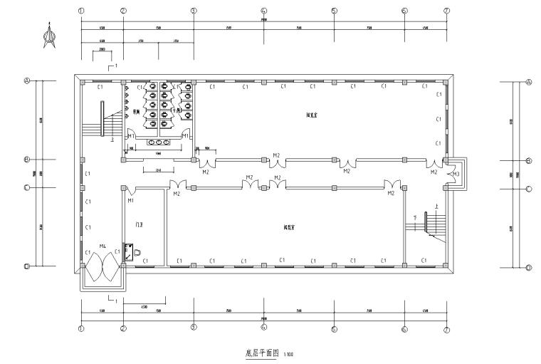 [南京]三层框架结构中学图书馆工程钢筋算量(含图纸)
