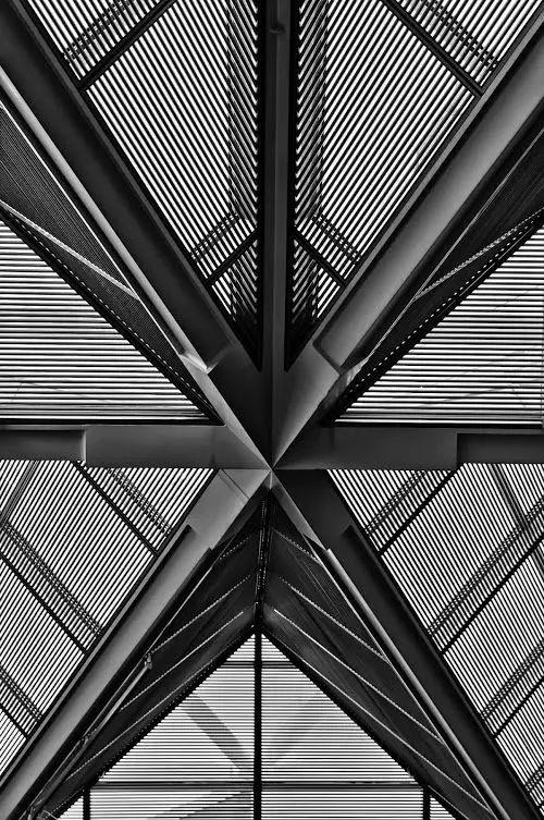 致敬贝聿铭:世界上最会用「三角形」的建筑大师_30