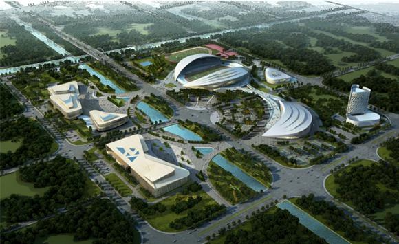 BIM技术应用于如东县文化体育中心
