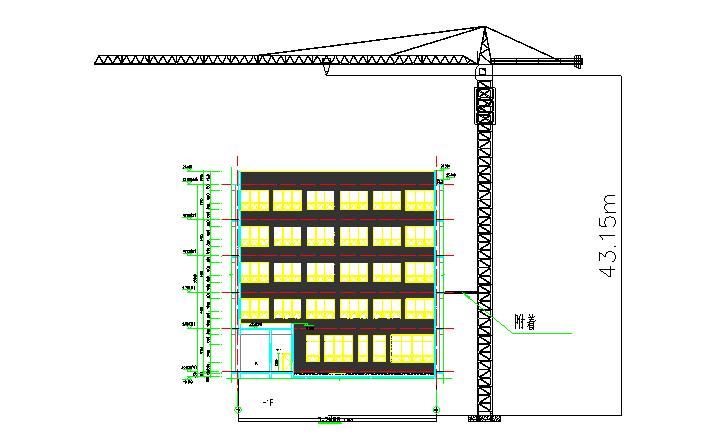 医院迁建工程PPP项目(1、4、6、7、9#)塔吊安拆施工方案
