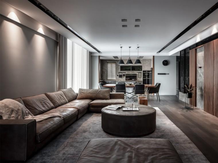 台州现代台式风格的居住空间