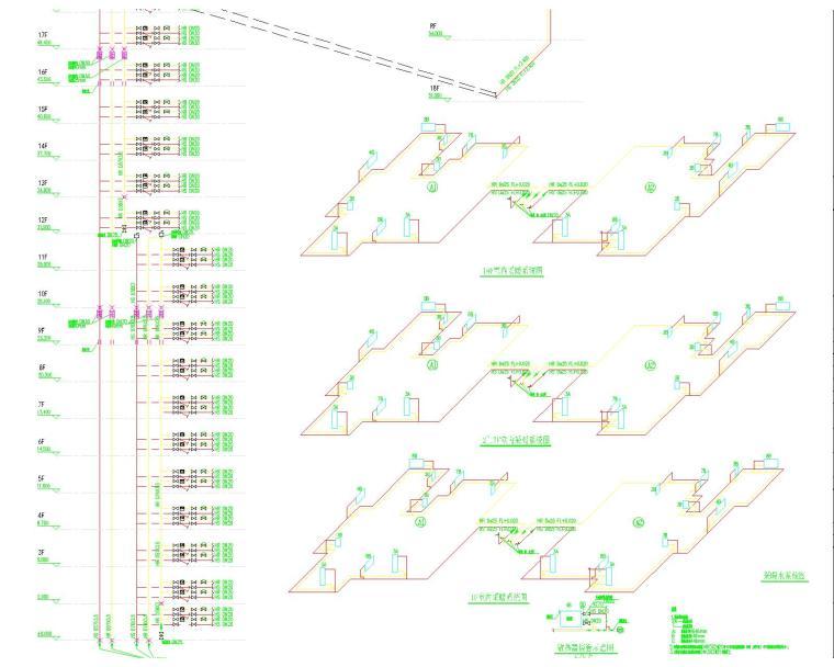[青海]西宁刻盘暖通设计最全图纸(含超市、地下车库、公建及餐饮、会所、商铺、幼儿园)