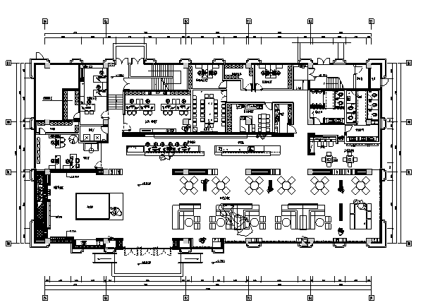 [中山]现代风格云中山主题售楼处室内设计施工图(含效果图)