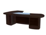 经理办公桌3D模型下载