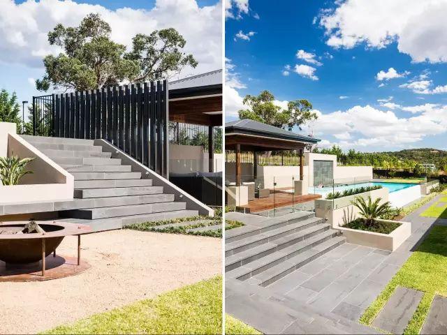赶紧收藏!21个最美现代风格庭院设计案例_49