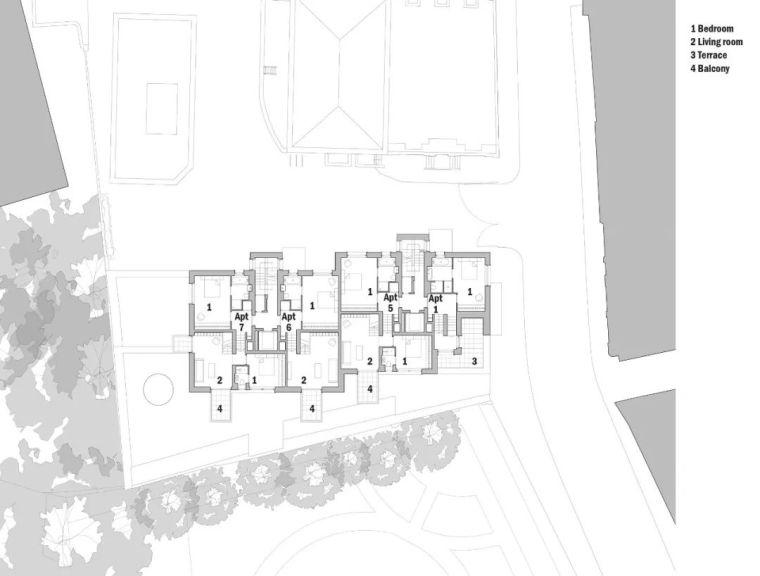 建筑师独立开发的公寓楼,真是好房子!_42