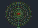 四角锥螺栓球网架设计图及计算说明书