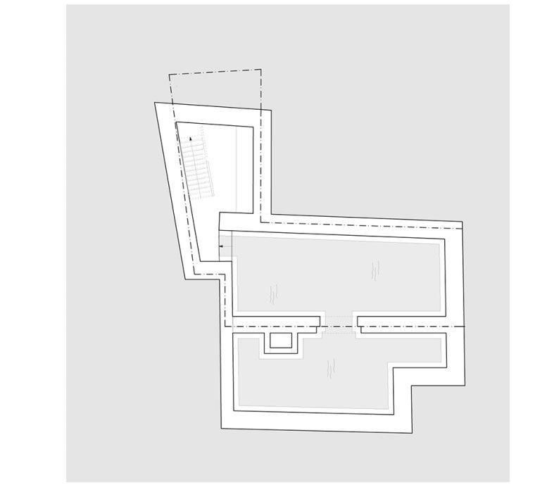 比利时一室小型酒店建筑平面图 (13)