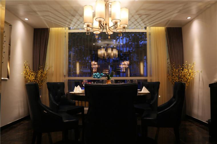 [特色餐厅设计]大连粤食粤点餐厅项目设计实景照片震撼来袭-8.JPG