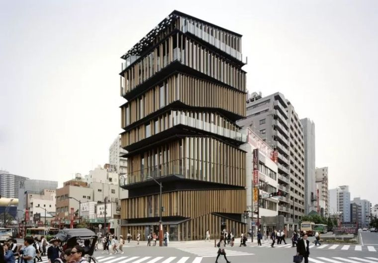 多层办公建筑设计:日本浅草文化旅游信息中心/案例