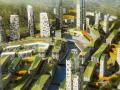 [湖南]梅溪湖滨水商业休闲R4混用居住区景观设计