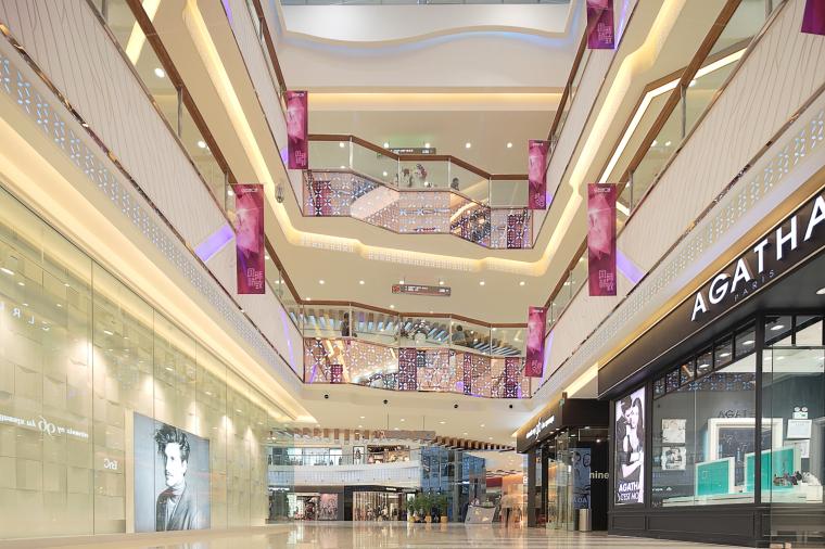 万达广场购物中心室内设计施工图(附效果图)-1 (6)