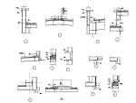 68个彩钢板屋面节点详图