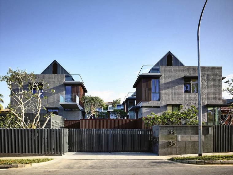 新加坡卓弯住宅/HylaArchitects_10